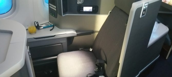 American Airlines First Class Review 787 LAX to ORD